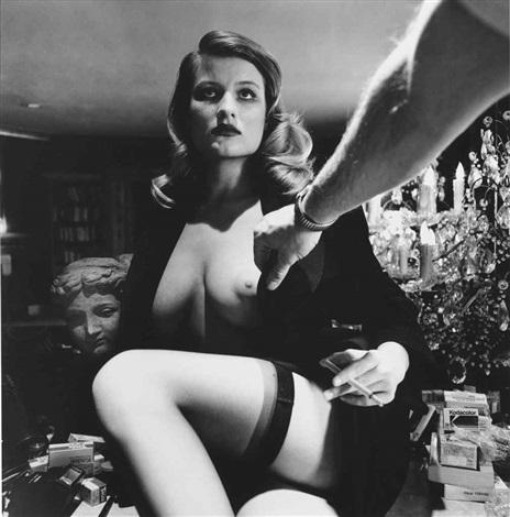 Voyeurism and Kodak Film, Beverly Hills, California by Helmut Newton on artnet