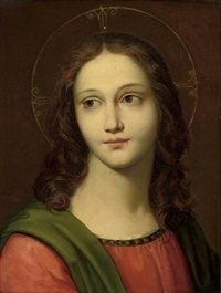 the young christ by filippo agricola