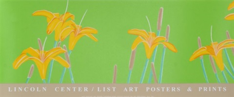 lincoln centerlist art tiger lilies by alex katz