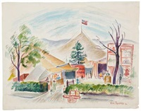 hope's circus, hopewell, new jersey by vera andrus