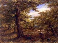under the beech tree by william linnell