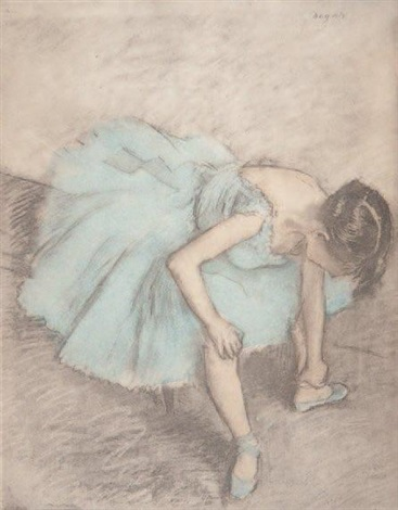 la danseuse by edgar degas