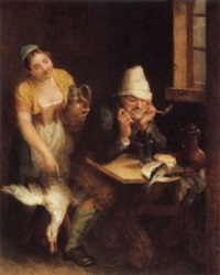 in the tavern by wilhelm alexandrowitsch golicke