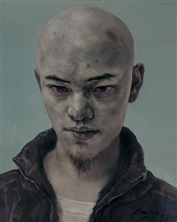 portrait by gao bo
