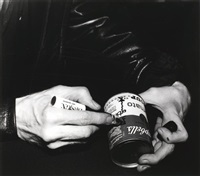 andy warhol's hands by rena small