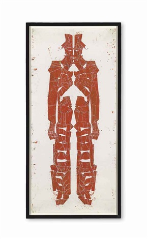 untitled (red figure) by matthew monahan