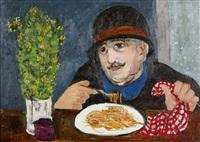 mangiatore di spaghetti by francesco tabusso
