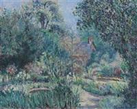 le jardin by blanche hoschedé-monet