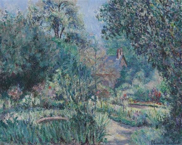 le jardin by blanche hoschedé monet