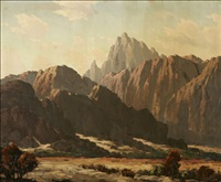 mountain landscape by joseph p. frey