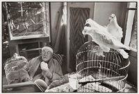 henri matisse, vence, france by henri cartier-bresson