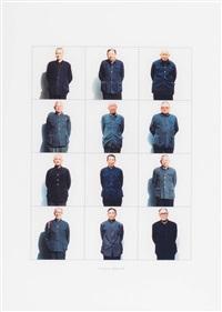 exactitudes: 37. chairmen - beijing 1999 by versluis & uyttenbroek