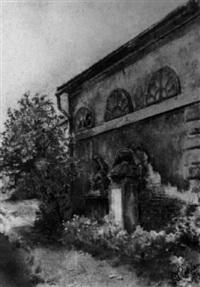 kirchenmauer in der wachau by rudolf pichler