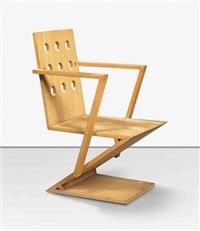 moolenbeck armchair by gerrit thomas rietveld