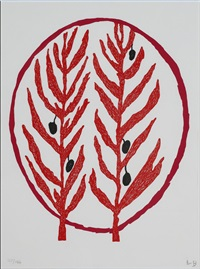 rameaux d'olivier by louise bourgeois