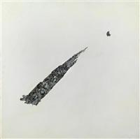 ohne titel (triptych) by hans hollein