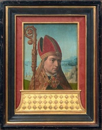 saint lambert (double-sided) by gerard david
