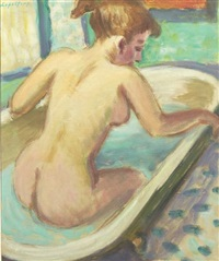 la femme au bain by robert lepeltier