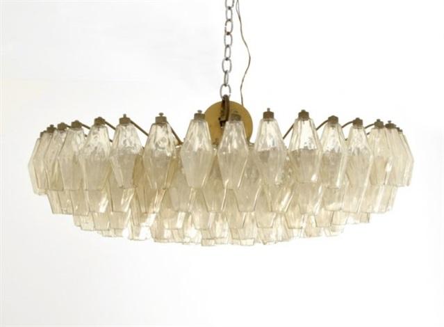 Large venini chandelier by venini co on artnet large venini chandelier by venini co aloadofball Images