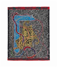 imola three ii (from circuits) by frank stella