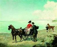 rendez-vous sur la plage by ernest alexandre bodoy
