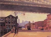 under the queensboro bridge by seymour snyder
