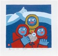 toi-yama (+ yama o yuku, 1973; 2 works) by umetaro azechi