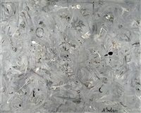 untitled (monochromes bild) by andré butzer