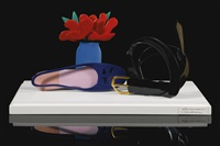 belt still life by tom wesselmann