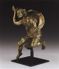 a running man by francesco mochi