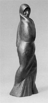 peruanerin im langen gewand by edmund (edmundo) moeller
