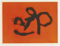 orange lyric (w. a. c. 477) by robert motherwell