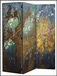 three panel screen (triptych) by american school-california (20)