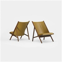 chairs (pair) by ward bennett