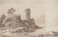 a ruined castle by john henry campbell
