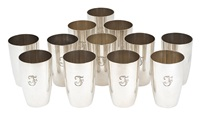 tafelbecher (set of 12) by emil hermann (co.)