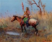 umatilla scout by olaf c. seltzer