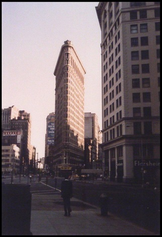 flat iron building nyc by beaumont newhall