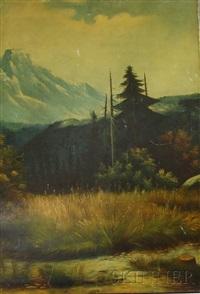 mountain scene by ben foster
