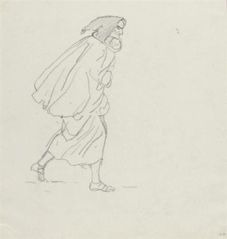 monk study by karl pavlovich bryullov