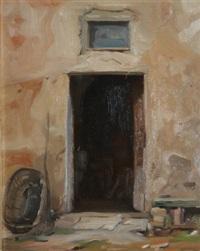 old doorway, italy by niccolo d'ardia caracciolo