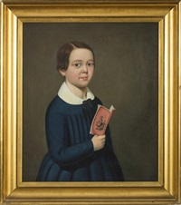 portrait of robert treat paine, jr. (1835-1910) as a child by william thompson bartoll