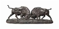 two bison by franz iffland