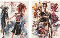 urban prairie girls (in 2 parts) by brad kahlhamer
