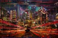 new york subway by yves bady
