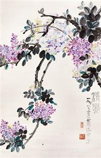 清风 立轴 纸本 by xiao shufang