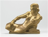 angelica (the artist's wife) by alexander archipenko