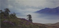 brodick bay, isle of arran (goat fell in the distance) by donald a. paton
