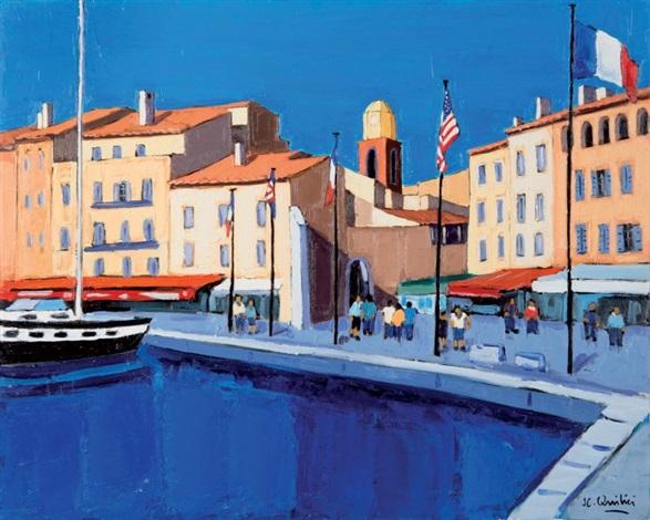Le Port De Saint Tropez By Jean Claude Quilici On Artnet