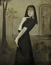 dívka v černém by nikolai mikhailovich rodionov